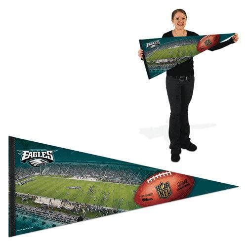 NFL - Philadelphia Eagles Pennant: 17x40 Stadium Premium Pennant