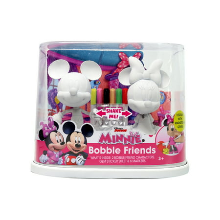 Disney Junior Minnie & Mickey Bobble Friends Coloring Activity Set - Minnie And Mickey Party Supplies