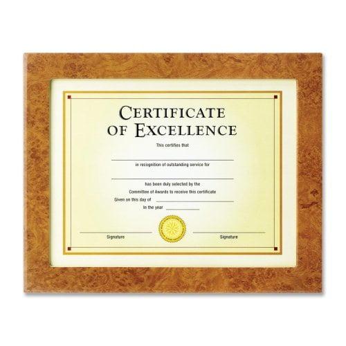 Haverland Burl Document Frame
