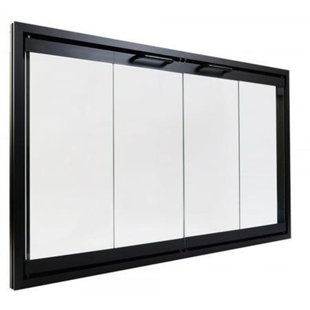 Superior Bi-Fold Glass Fireplace Door 36