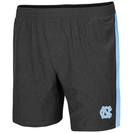 North Carolina Tar Heels Colosseum Spring Training Lined Running Shorts - Charcoal