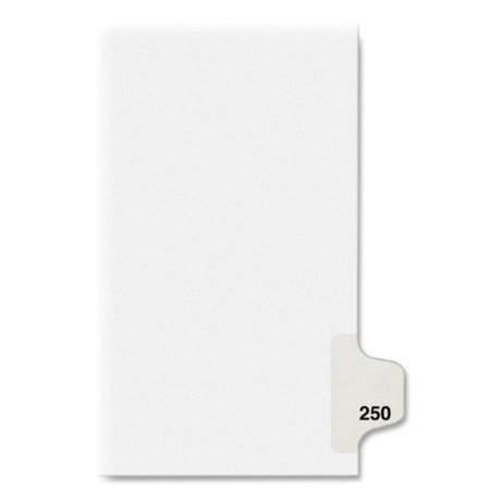 avery individual side tab legal exhibit dividers 82466 walmart com