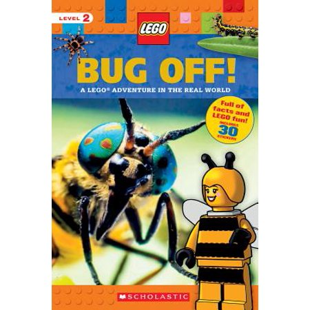 Bug Off! (Lego Nonfiction) : A Lego Adventure in the Real (Bug Off Animals)