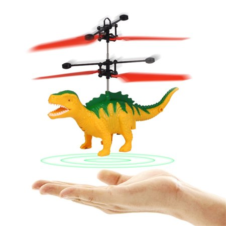 Hand Flying Dinosaur LED 2019 hotsales kids Induction Suspension RC Aircraft Flying Toy