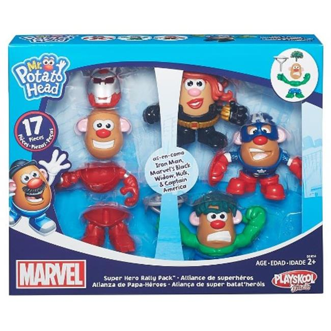 Hasbro HSBB6454 Mr. Potato Head Marvel Mashups Dual Gender, Pack of 4 by Hasbro