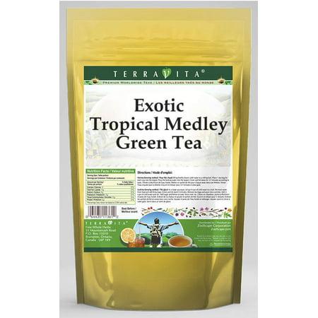 Exotic Tropical Medley Green Tea (25 tea bags, ZIN: 533410)