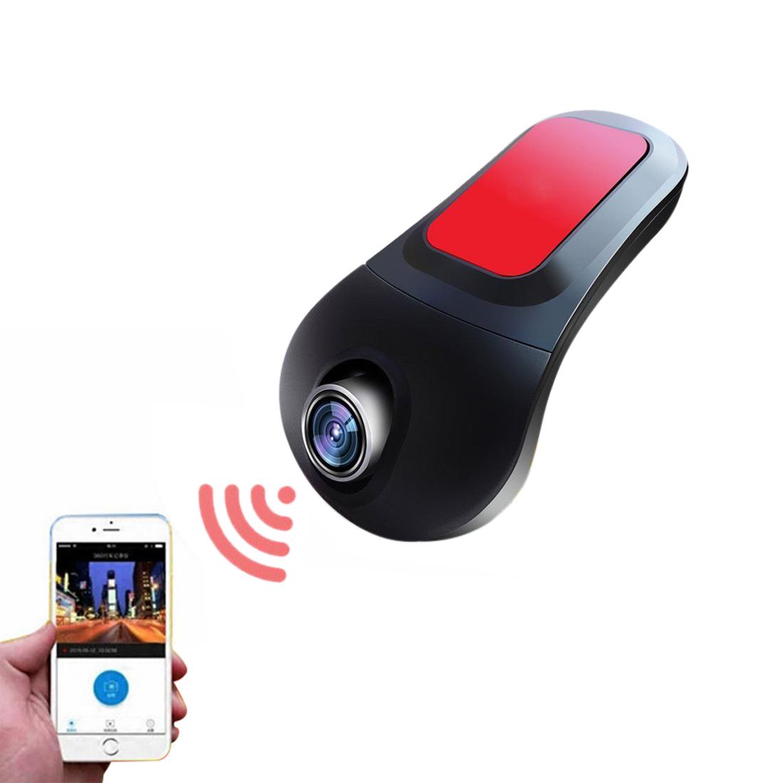 FHD 1080P Dash Cam Hidden WIFI Car DVR Vehicle Camera Recorder 170 degree Len G-senor
