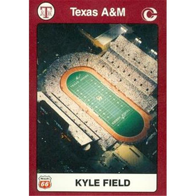 Aggies Kyle Field Football Card (Texas A&M) 1991 Collegiate Collection No. 64
