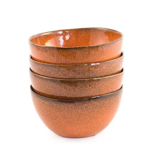 Bambeco Cereal Bowl Farmstead Terracotta (4x4 Ct)