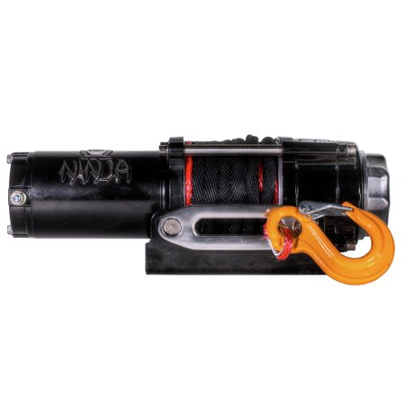 Warrior Winches C2500N-SR 2,500 lb. Ninja Series Planetary Gear Winch with Synthetic Rope](Ninja Ropes)