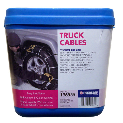Peerless Winter Track Light Truck Tire Cables, #196555