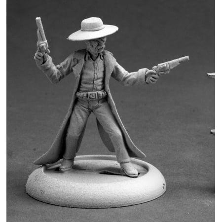 Reaper Miniatures Deadeye Slim, Cowboy #50249 Chronoscope D&D RPG Mini Figure - Cowboy Playset