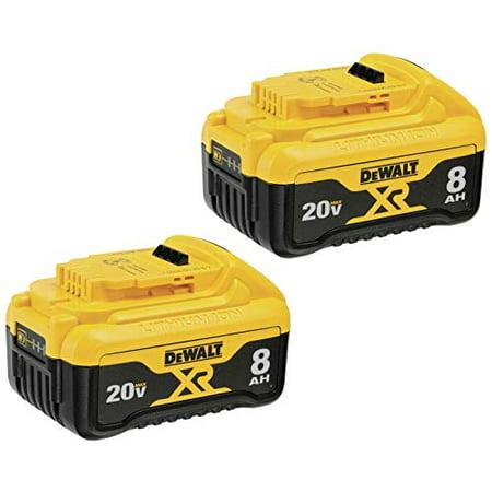 Dewalt-DCB208-2 20V MAX* XR 8Ah Battery-2 Pack