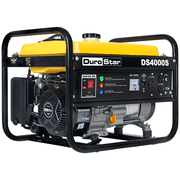 DuroStar DS4000s Gas Powered Portable Generator - 4000 Watt -Electric Start- Camping & RV Ready, 50 State Approved