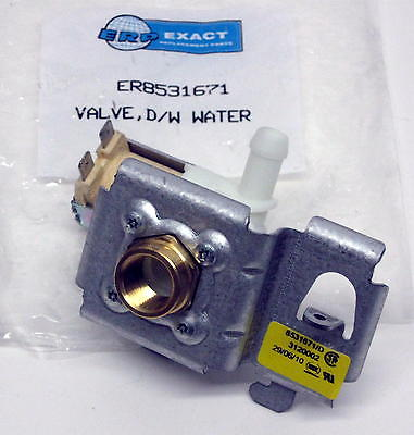 WP8531671 Dishwasher Inlet Water Valve for Whirlpool AP6012920 PS11746141
