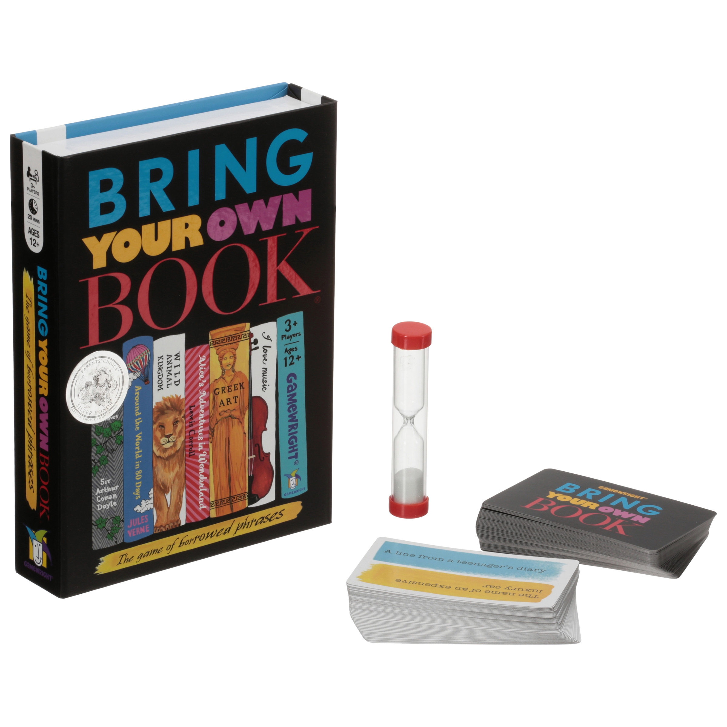 Gamewright® Bring Your Own Book® Game Box