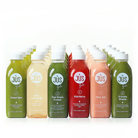 Jus by Julie 5-Day Blended Juice Cleanse, 30 Count