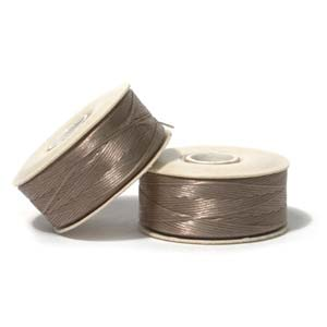NYMO Nylon Beading Thread Size D for Delica Beads Sand 64 Yards (58 Meters)