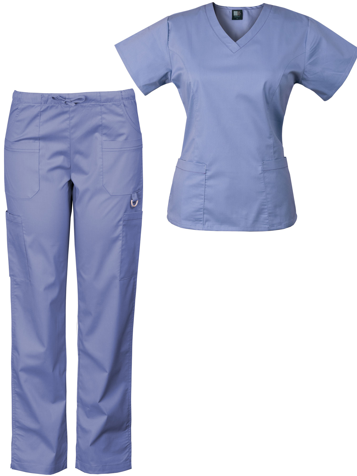 2a0ffea467a Women'€™s Eversoft 2-Way Stretch Medical Scrub Set, Style 7895ST