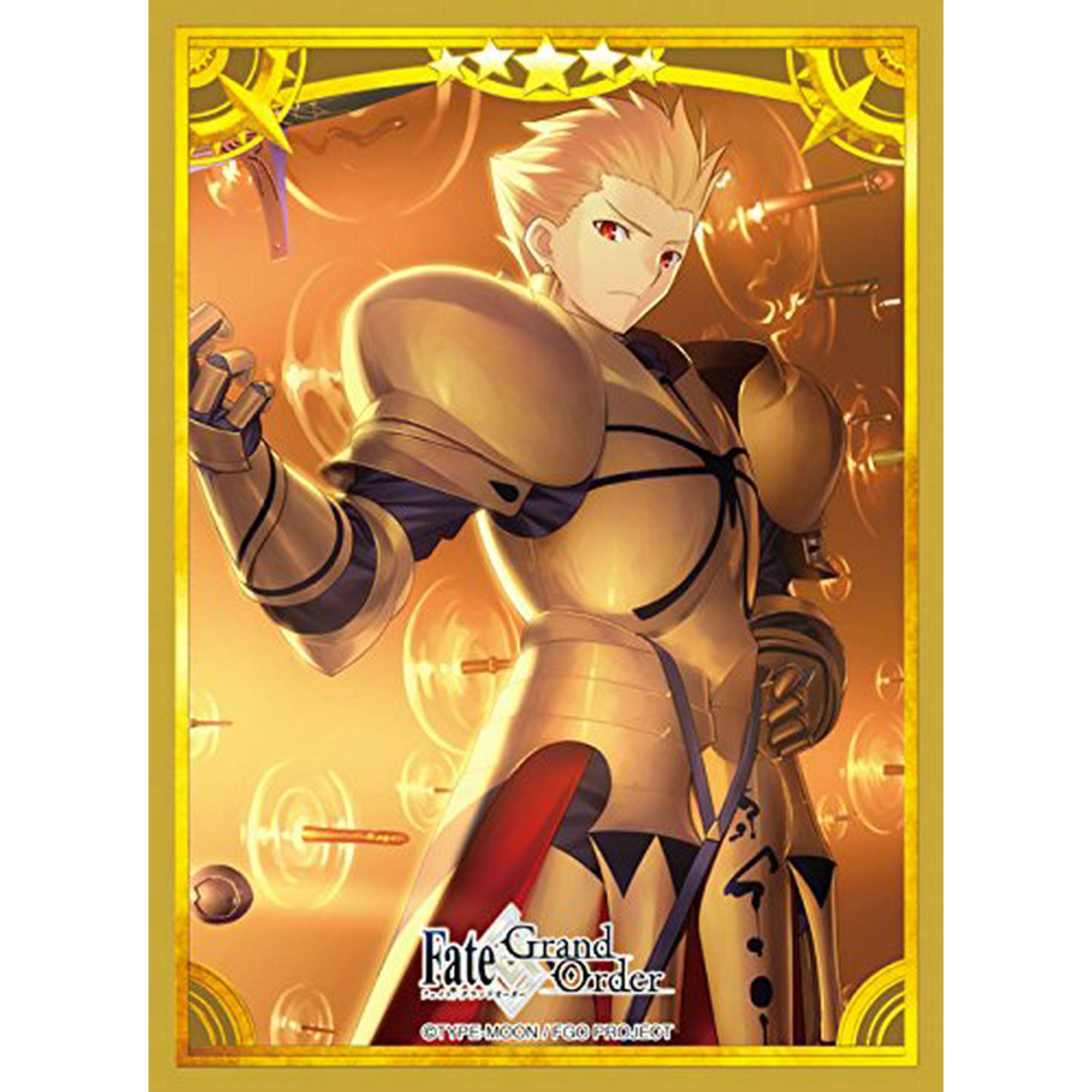 Fate Grand Order FGO Archer Gilgamesh Anime Card Game Character Sleeve