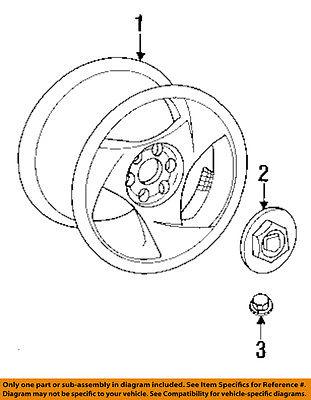 Dodge Chrysler Oem 97 02 Viper Front Suspension Adjust Bolt Nut