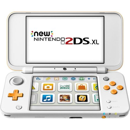 Refurbished Nintendo JANSOAAB 2DS XL, White and Orange (2ds Refurbished)