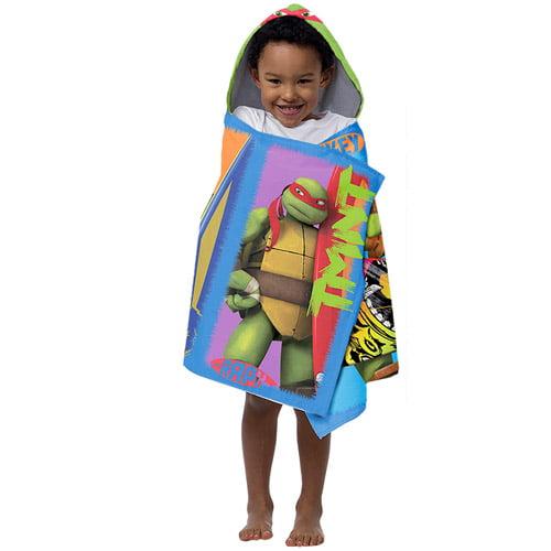 Nickelodeon Teenage Mutant Ninja Turtles Hooded Beach Towel