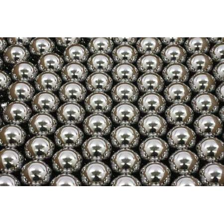 1/4 Chrome Steel Bearing - 250 3.5mm Diameter Chrome Steel Bearing Balls G25