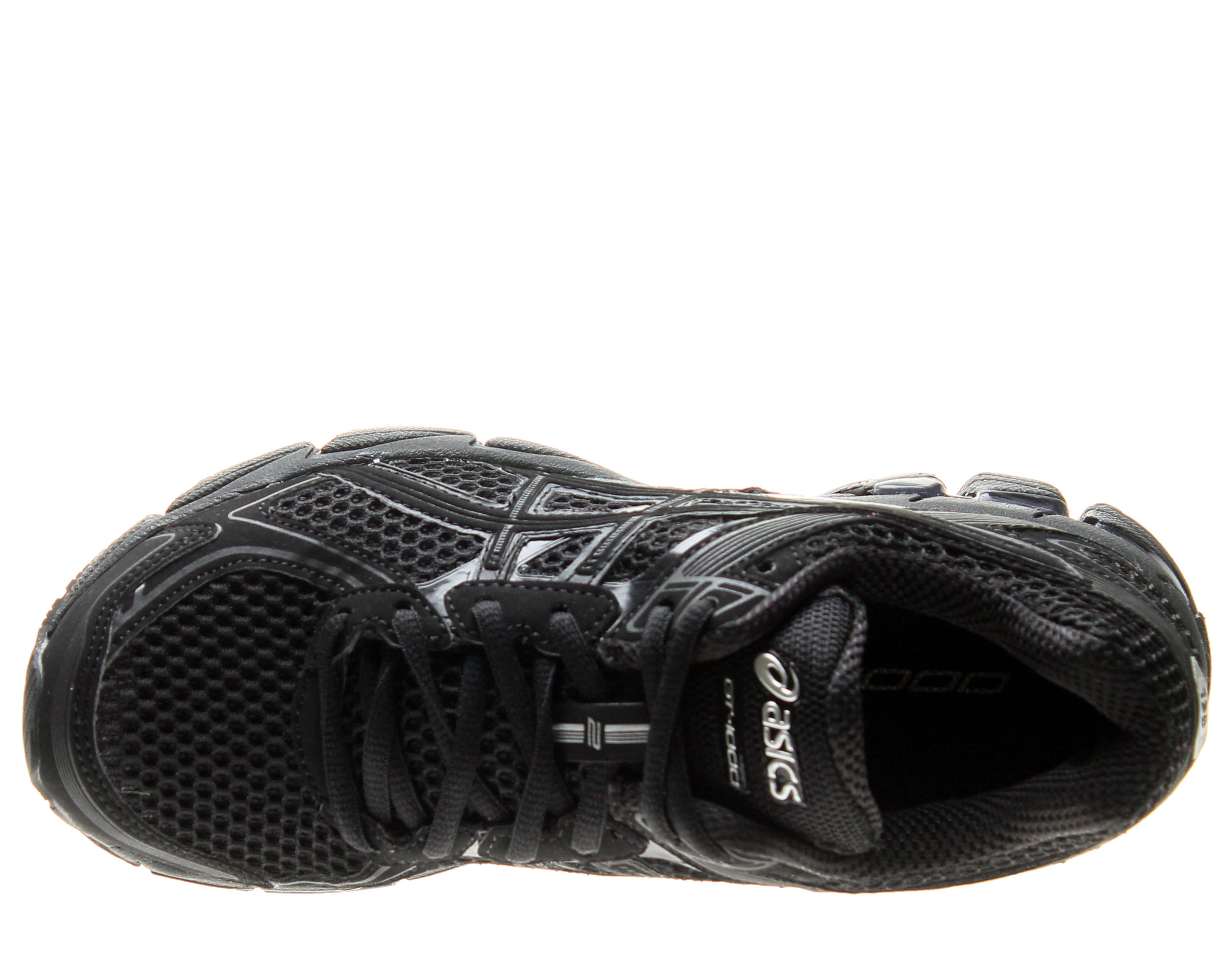 Asics GT-1000 2 Black/Onyx/Lightning Women's Running Shoes T3R6N-9099 Wide