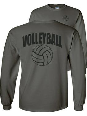 Volleyball Arch Ball Long Sleeve T-Shirt