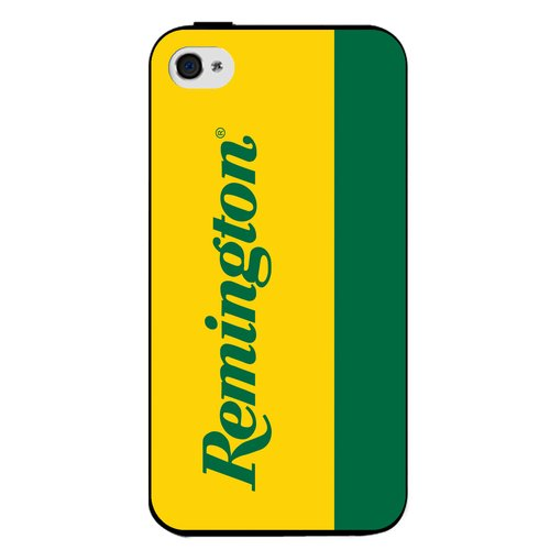 Remington iPhone 5 Case, Green/Gold