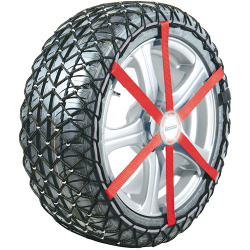 Michelin Easy Grip Snow Chain, For Sizes 205/65/15, 215/55/16 and 225/50/16, Set of 2