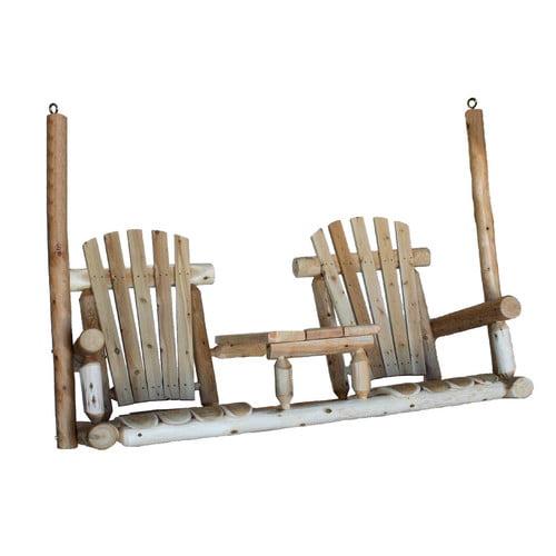 Lakeland Mills Tete-A-Tete Porch Swing by Lakeland Mills
