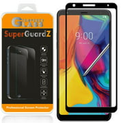 [2-Pack] For LG Stylo 5 SuperGuardZ Tempered Glass Screen Protector [Full Coverage, Edge-To-Edge Protection], Anti-Scratch, Anti-Shock
