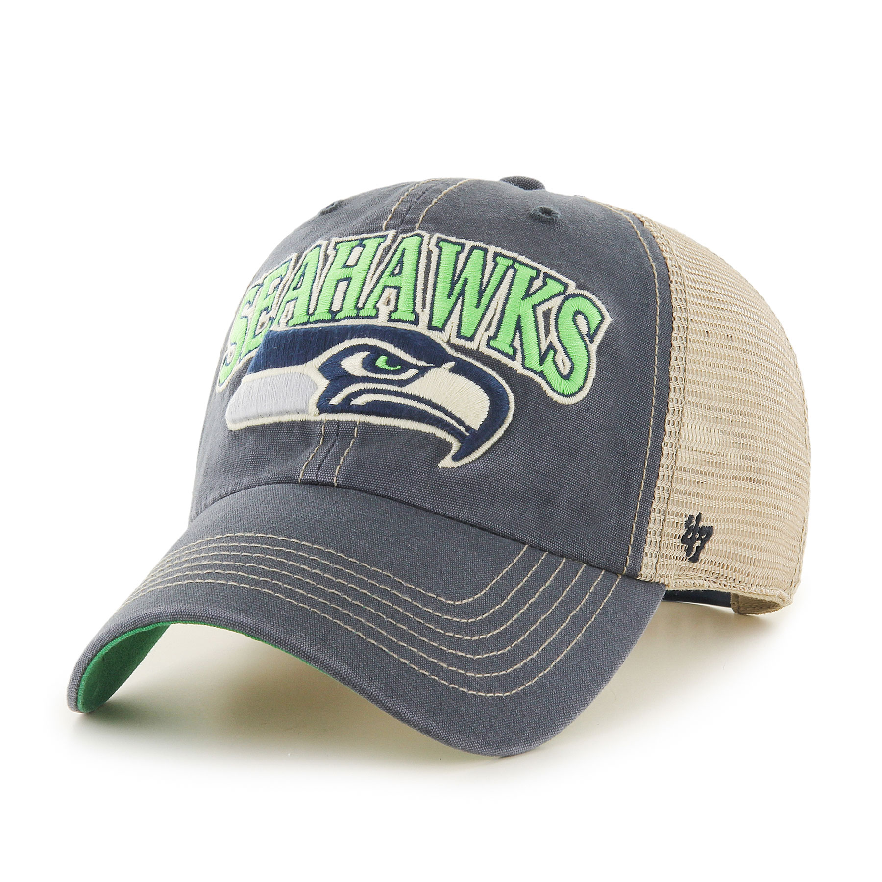 Seattle Seahawks NFL Tuscaloosa Clean Up Cap -  47 e4a050f82748