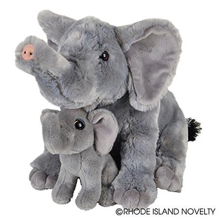 Adventure Planet Birth of Life Stuffed Elephant with Baby 11