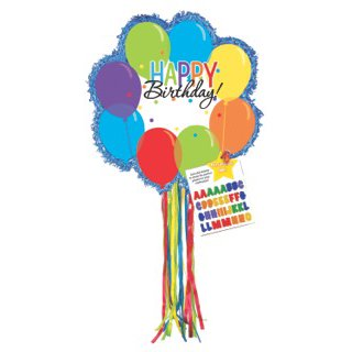 Balloon Bash Pinata (T Rex Pinata)