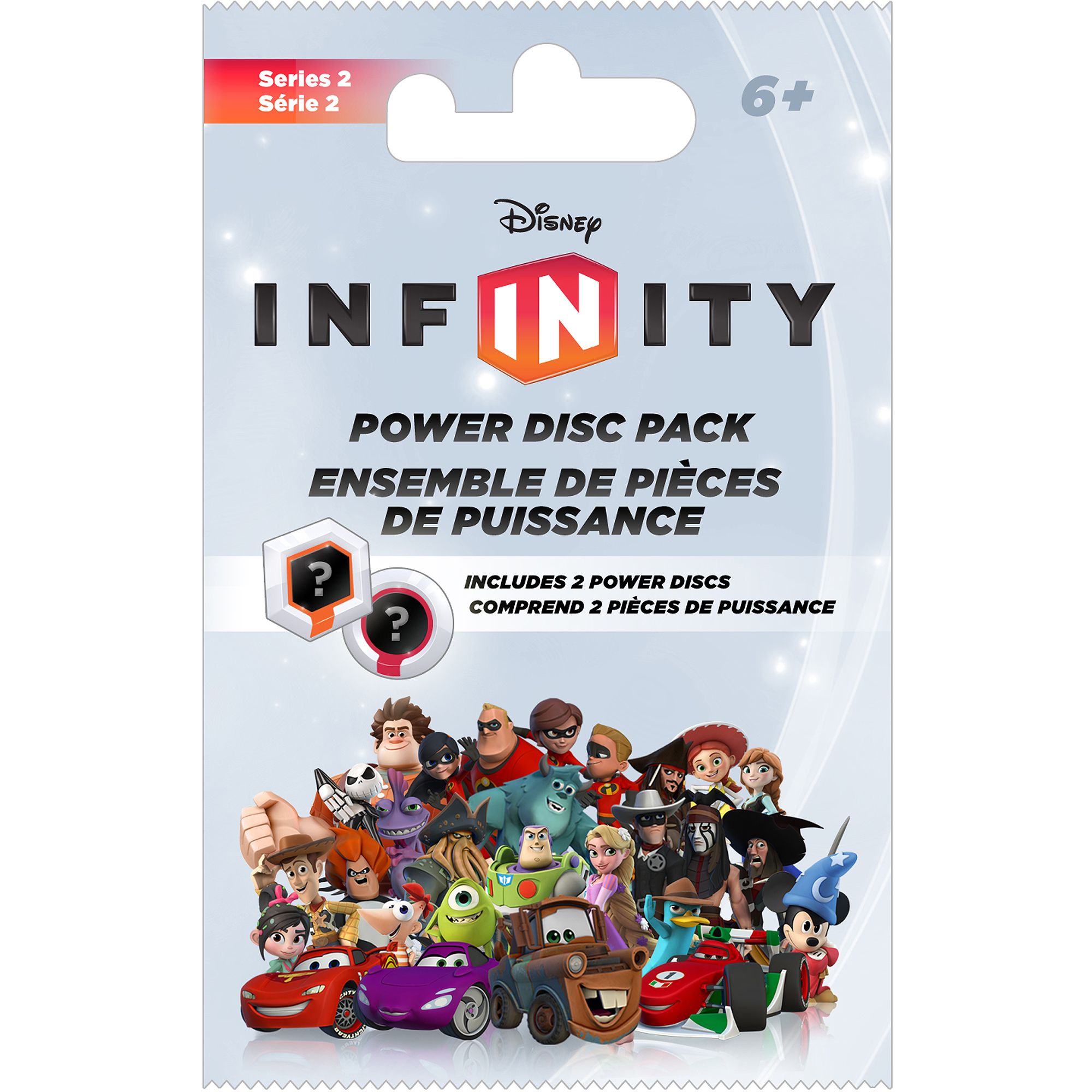 Disney Infinity Power Disc 2-Pack Series 2 (Universal) by Disney