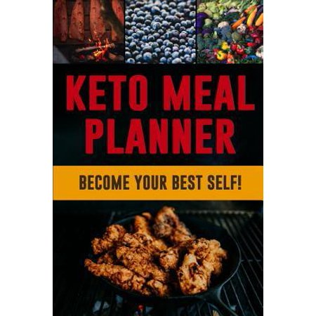 Keto Meal Planner: A Daily Low-Carb Food Tracker to Help You Lose Weight Become Your BEST Self! Track and Plan Your Ketogenic Meals (3 Mo