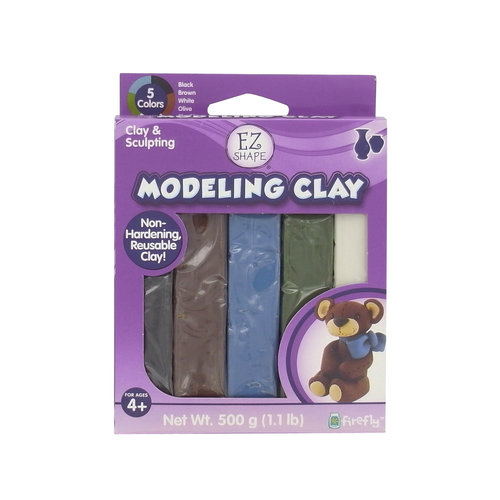 EZ Shape Non-Dry Modeling Clay, Natural