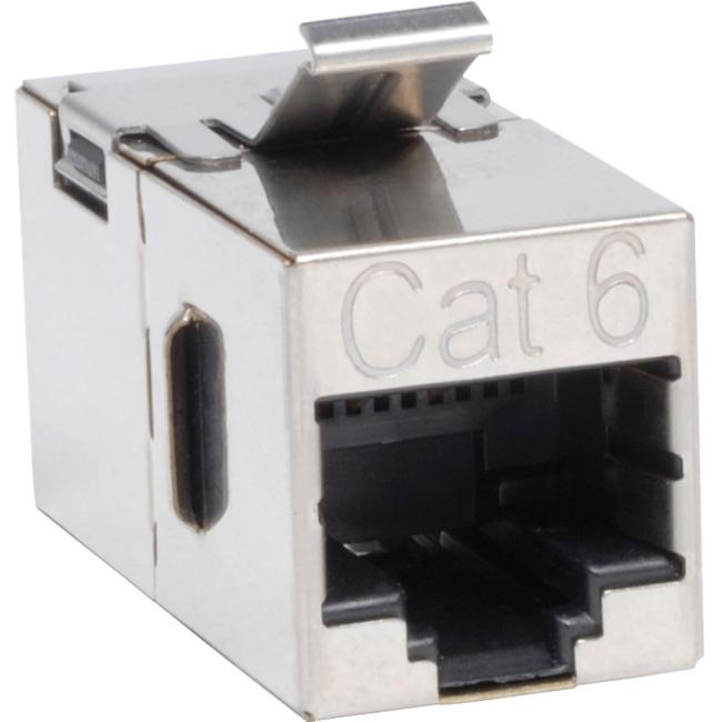 Tripp Lite N235-001-SH Cat6 Straight Through Modular Shielded In-line Snap-in Coupler