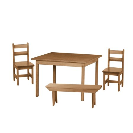 Children's Dining Set - Harvest - Table, 2 Chairs 1 Bench ()