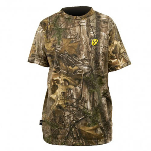 Youth Realtree Short Sleeve T-Shirt ScentBlocker, Realtree Xtra, Available in Multiple Sizes