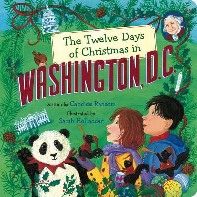 12 Days of Christmas in Washington DC (Board Book) - Firefly Washington Dc