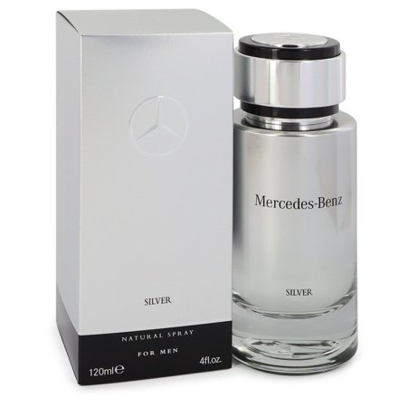 (pack 9) Mercedes Benz Silver By Mercedes Benz Eau De Toilette Spray4 oz - image 1 of 2