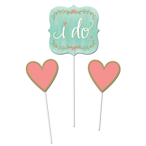 Mint to Be DIY Centerpiece Sticks, 3 pk