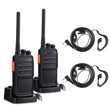 2 PCS Practical Hand-Funkgert Walkie Talkie A5 UHF CTCSS (The Best 2 Way Radios)