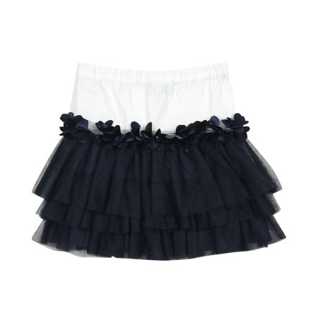 Blu by Blu Girls' Tiered Skirt Bling Bling, Sizes 7-14 - 10 - image 1 of 1