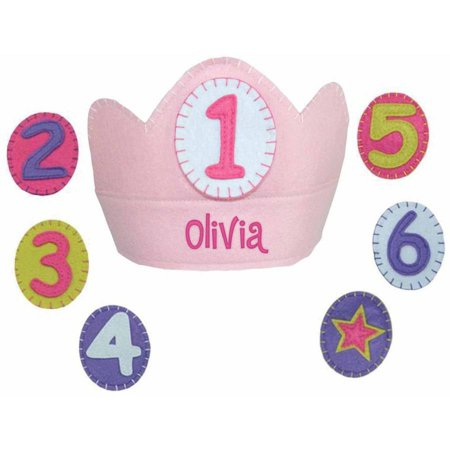 Birthday Girl Crown (Personalized Yearly Birthday Crown,)