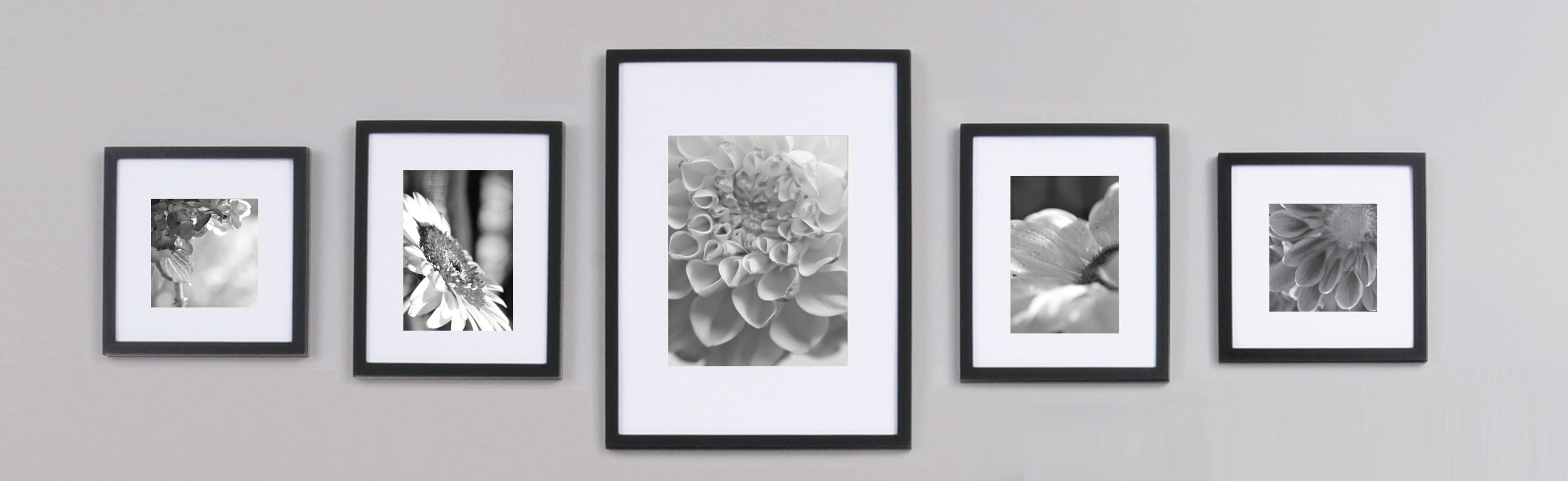 Gallery Perfect 5-Piece Black Wall Frame Kit - Walmart.com